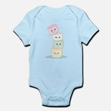 Stacked Marshmallows Infant Bodysuit