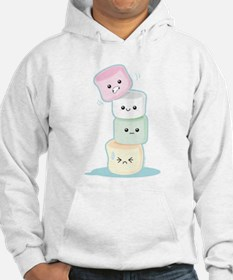 Stacked Marshmallows Hoodie