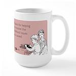 Childhood Issues Large Mug