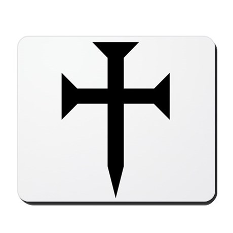 Cross Fichee Mousepad