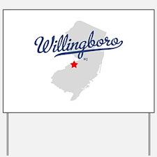 Willingboro, NJ - gray Yard Sign
