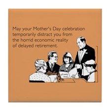 Mother's Day Celebration Tile Coaster