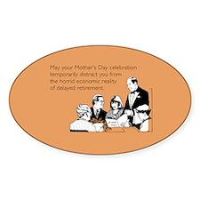 Mother's Day Celebration Sticker (Oval)
