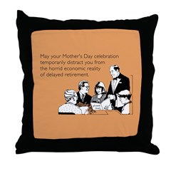Mother's Day Celebration Throw Pillow