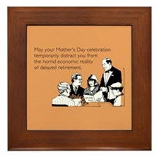 Mother's Day Celebration Framed Tile