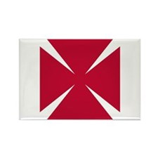 Cross Formee Pattee Rectangle Magnet (10 pack)