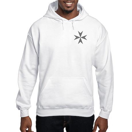 Cross of Malta Hooded Sweatshirt