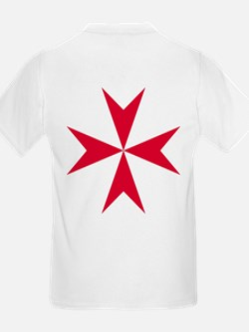 Cross of Malta Kid's Light T-Shirt