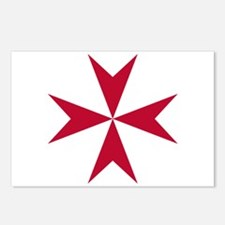 Cross of Malta Postcards (Package of 8)