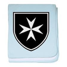 Cross of Malta Baby Blanket