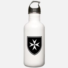 Cross of Malta Water Bottle
