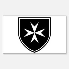 Cross of Malta Decal