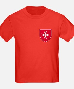 Cross of Malta Kid's T-Shirt (Dark)