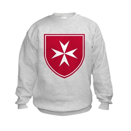 Cross of Malta Kid's Sweatshirt