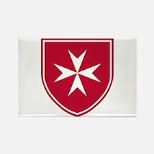 Cross of Malta Rectangle Magnet (10 pack)