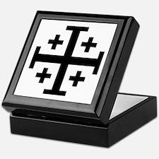 Cross Potent Keepsake Box