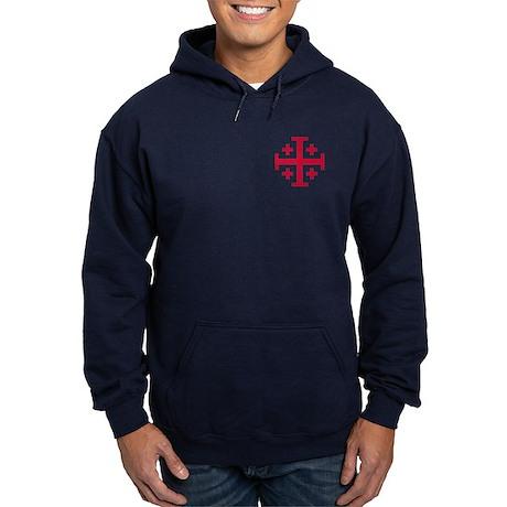 Cross Potent Hoodie (dark)
