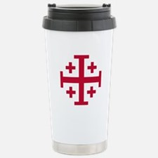 Cross Potent Travel Mug