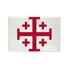 Cross Potent Rectangle Magnet (100 pack)