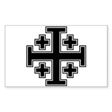 Cross Potent Decal