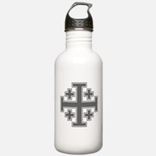 Cross Potent Water Bottle