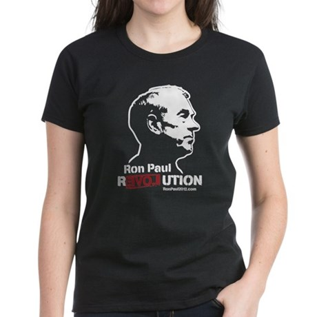 Ron Paul Revolution Women's Dark T-Shirt