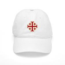 Cross Potent Baseball Cap