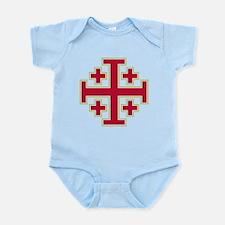 Cross Potent Infant Bodysuit