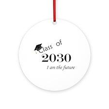 Born in 2012/Class of 2030 Ornament (Round)