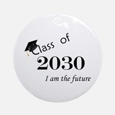 Born in 2012/Class of 2030 Ornament (Round)