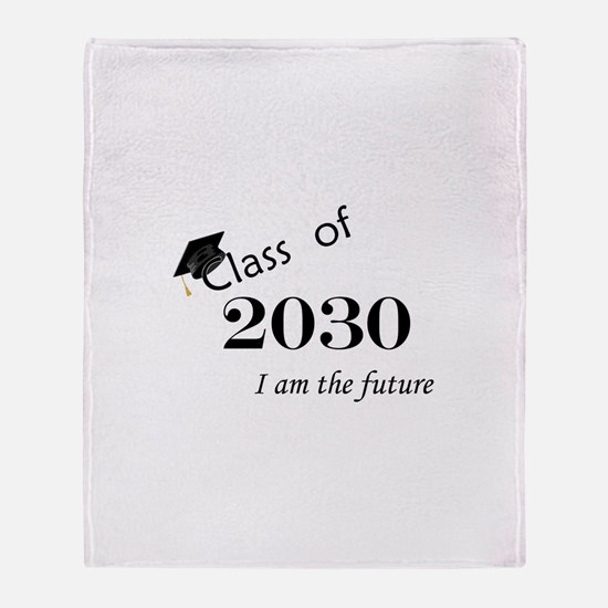 Born in 2012/Class of 2030 Throw Blanket