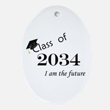 Born in 2012/College Class of 2034 Ornament (Oval)