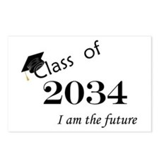 Born in 2012/College Class of 2034 Postcards (Pack