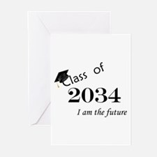 Born in 2012/College Class of 2034 Greeting Cards