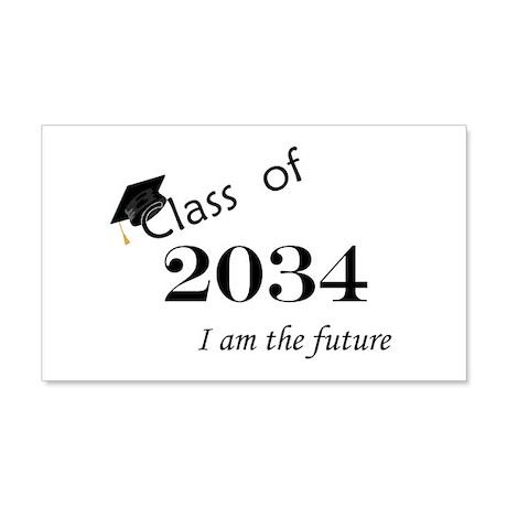 Born in 2012/College Class of 2034 22x14 Wall Peel