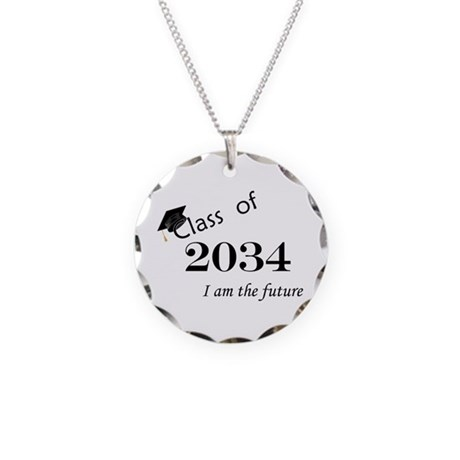 Born in 2012/College Class of 2034 Necklace Circle
