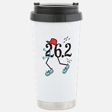 Funny Marathoner 26.2 Stainless Steel Travel Mug