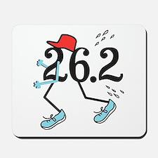 Funny Marathoner 26.2 Mousepad