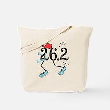 Funny Marathoner 26.2 Tote Bag