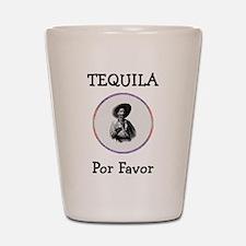 Tequila Por Favor Shot Glass