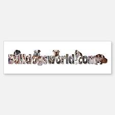 Bulldog Bumper Bumper Bumper Sticker