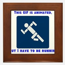 This gif is animated, but I h Framed Tile