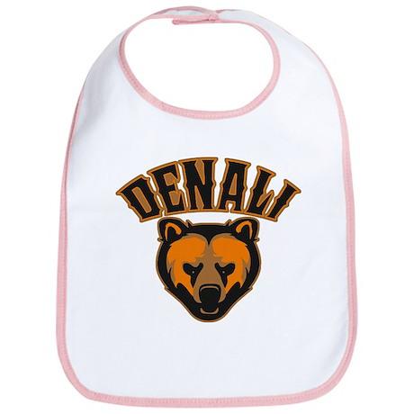 Denali Bear Face Bib