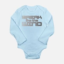 Break like the Wind Long Sleeve Infant Bodysuit