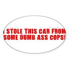 Cute Cop bumper Decal