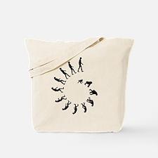 Evolution Spiral Tote Bag