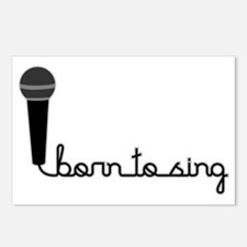 Born to Sing Postcards (Package of 8)