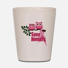 Hooters 2 Shot Glass