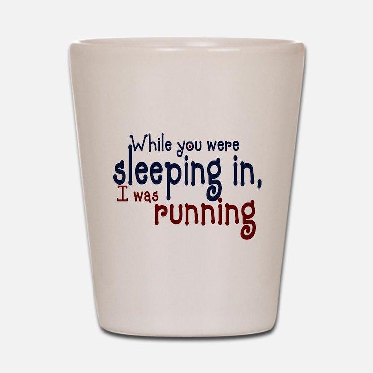 Sleeping in Shot Glass