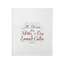 Mother's Day Emmett Throw Blanket